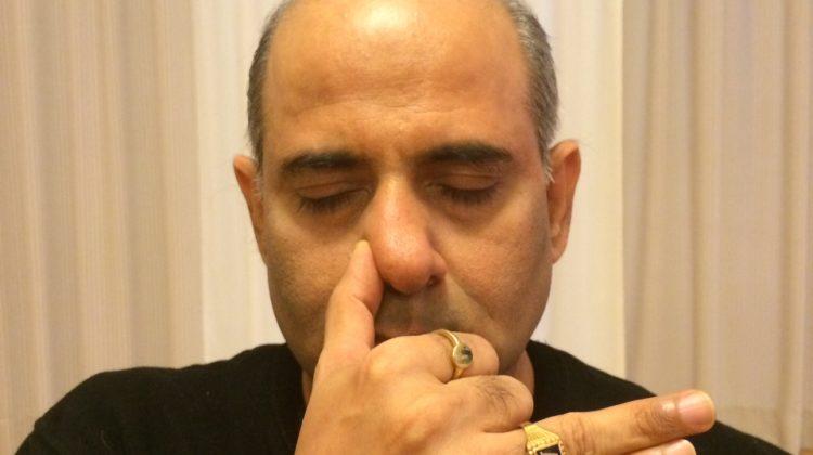 Mr. Vinod Sharma Hong Kong showing Yoga Pose 9
