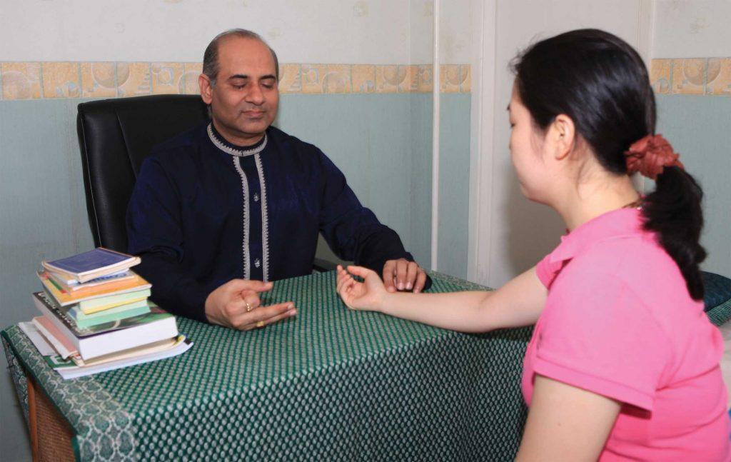 Mr. Vinod Sharma Hong Kong Consulting Patient 1
