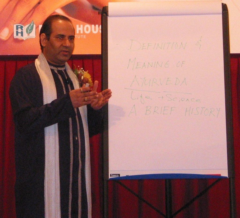 Ayurveda Seminar by Mr. Vinod Sharma Hong Kong 3