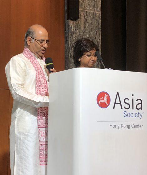 International Day of Yoga by Mr. Vinod Sharma Hong Kong