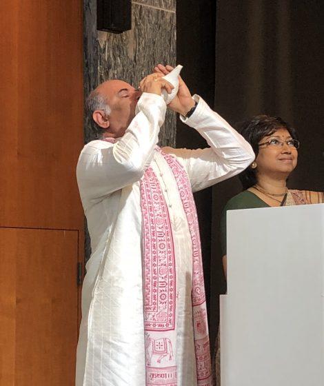 International Day of Yoga by Mr. Vinod Sharma Hong Kong 2