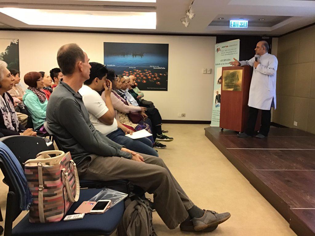 Seminar on Various Health Topics by Mr. Vinod Sharma Hong Kong 2