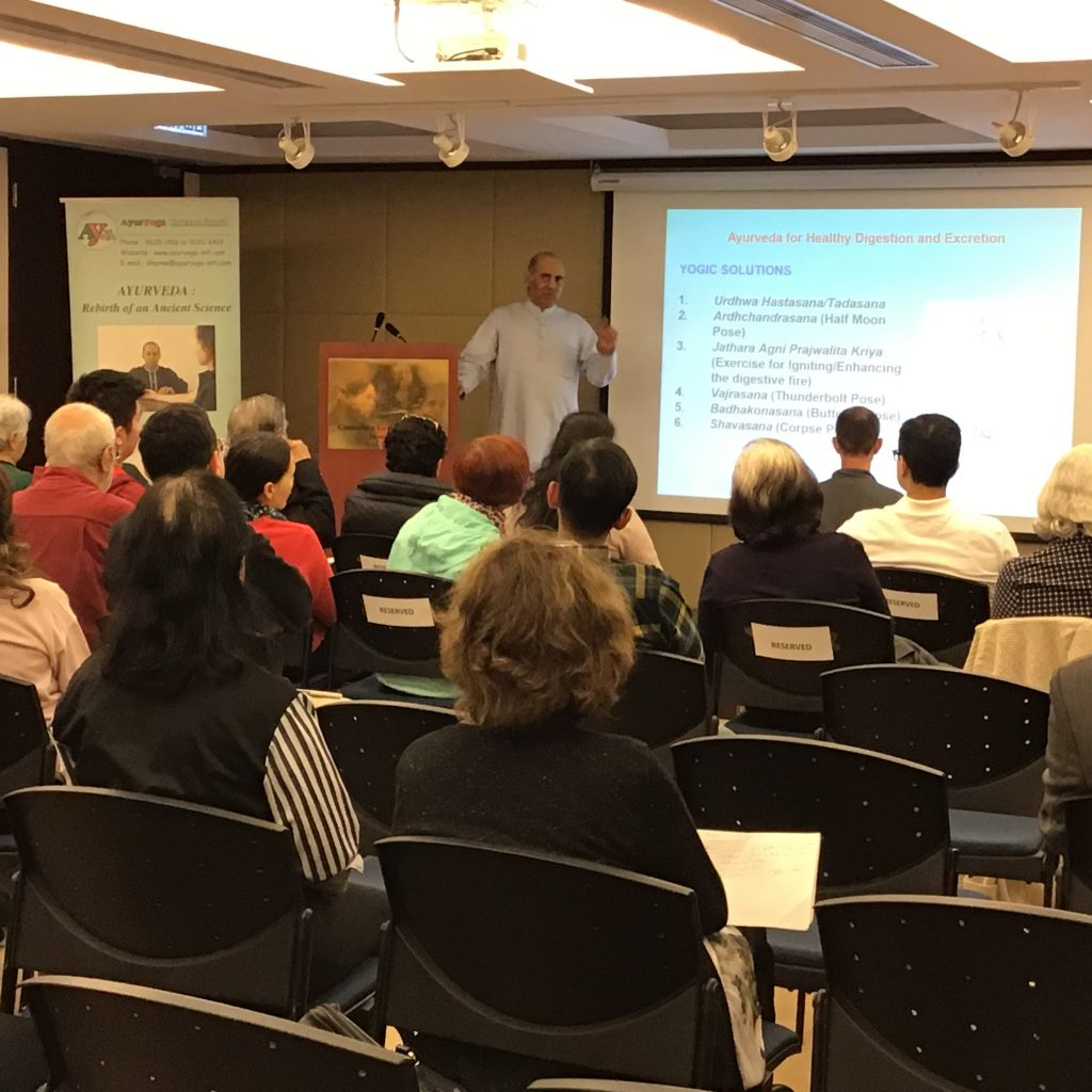 Seminar on Various Health Topics by Mr. Vinod Sharma Hong Kong 5