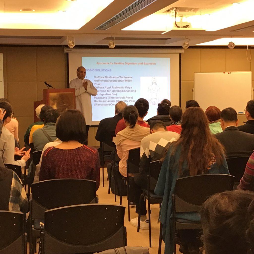 Seminar on Various Health Topics by Mr. Vinod Sharma Hong Kong 3