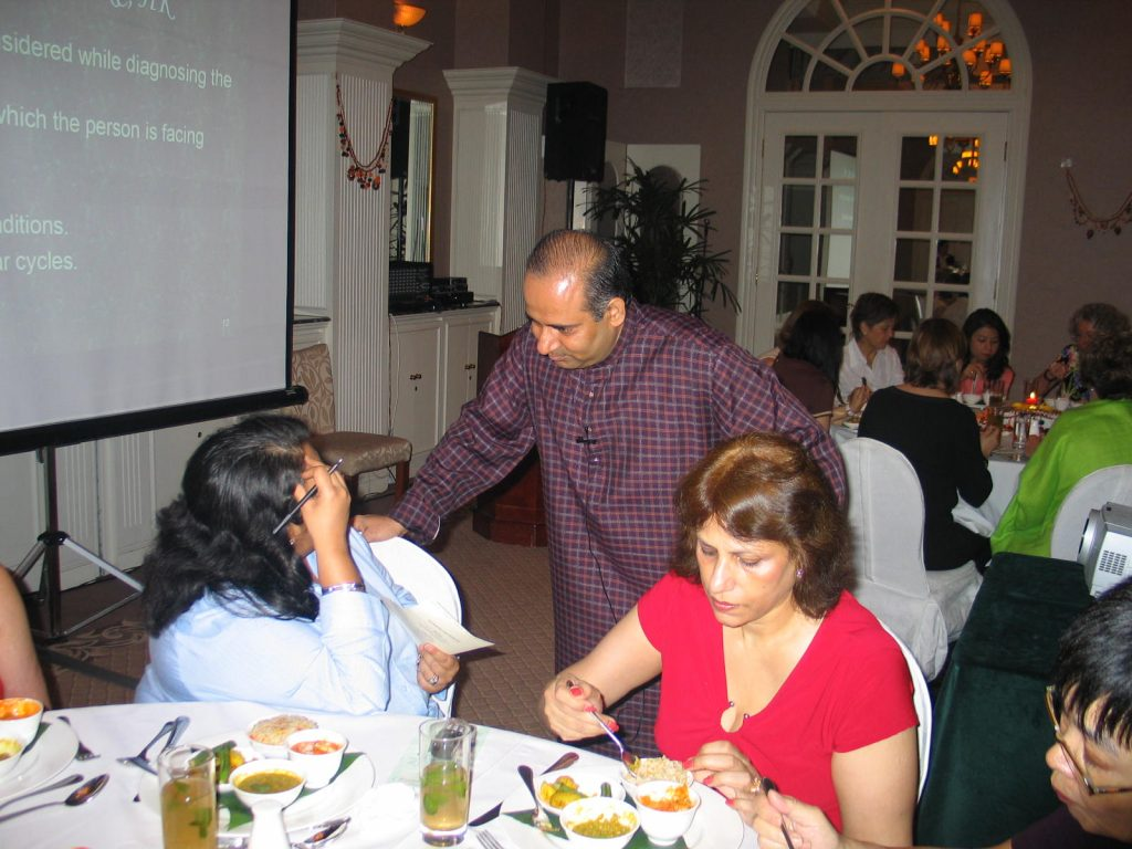 Ayurveda for Health at Ladies Recreation Club by Mr. Vinod Sharma Hong Kong 2