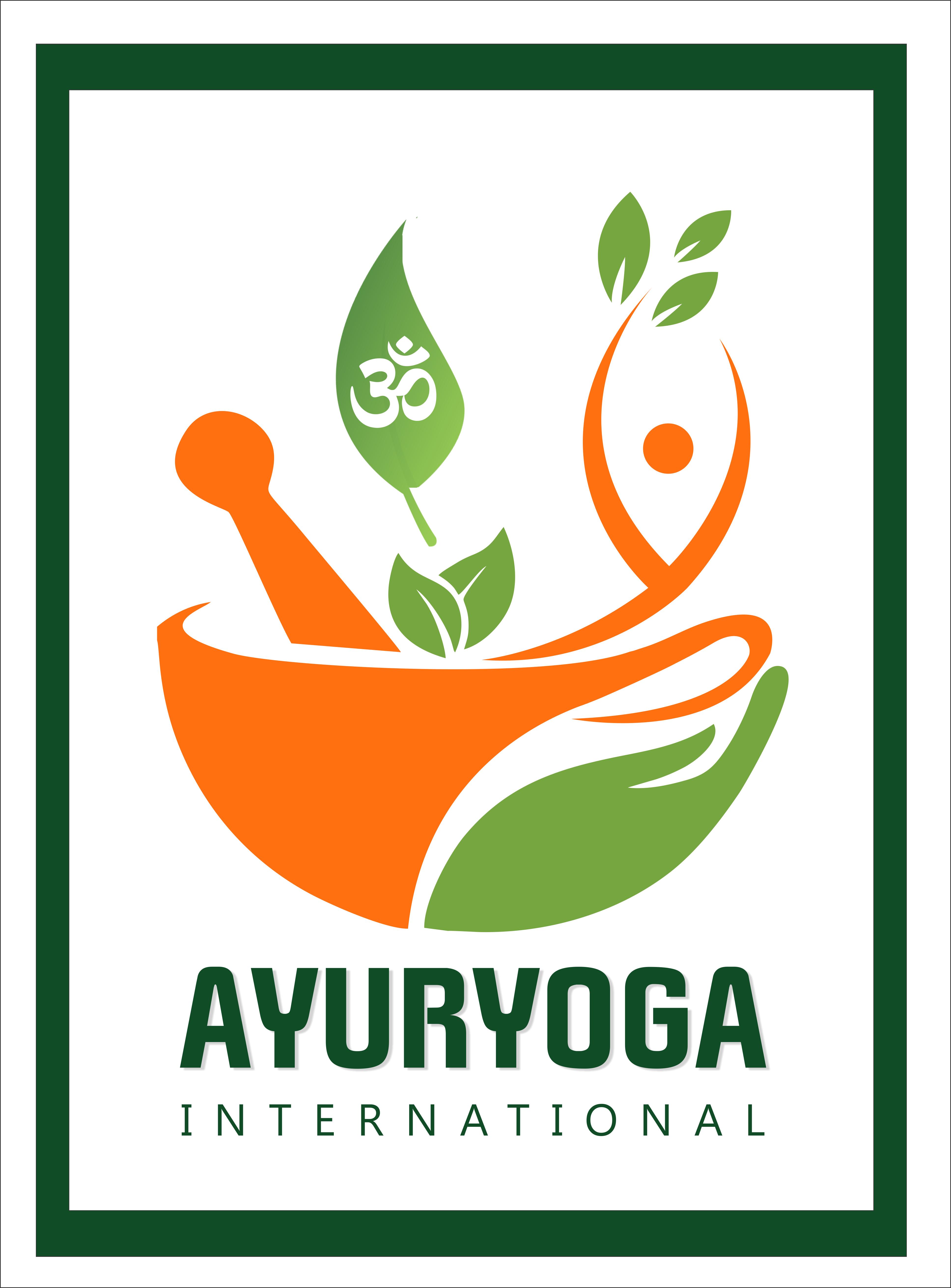 Ayuryoga International Potrait Logo