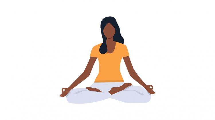Kapalbhati Yoga Pose